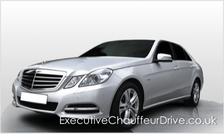 Mercedes E Class Chauffeur Drive London